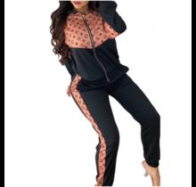 Fashion Trend Track Jacket and Pant Set MHH7375