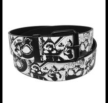 Men's White Skull Buckle Belts PM2023