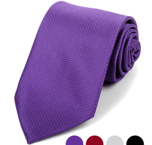 Laurant Bennet Microfiber Poly Woven Tie - MPW5937