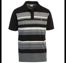 Gioberti Men's Slim Fit Striped Short Sleeve Polo Shirt PS-9326