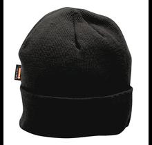 Portwest Insulated Knit Cap B013 Black   B013BKR