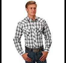 Roper Men's Plaid Western L/S Shirt 101-101-565BL