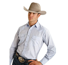 Roper Men's Plaid Western L/S Shirt 144-441