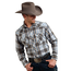 Roper Roper Men's Plaid Western L/S Shirt 101-242