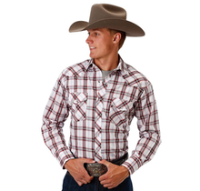 Roper Men's Plaid Western L/S Shirt 101-547