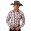 Roper Roper Men's Plaid Western L/S Shirt 101-547