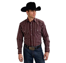 Roper Men's Plaid Western L/S Shirt 074-706