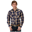 Roper Roper Men's Plaid Western L/S Shirt 101-787BU