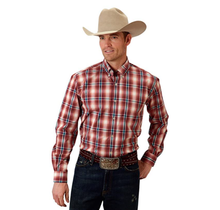 Roper Men's Plaid Western L/S Shirt 379-1003