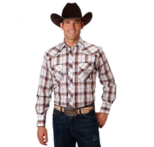 Roper Men's Plaid Western L/S Shirt 101-564