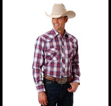 Roper Men's Plaid Western L/S Shirt 101-546