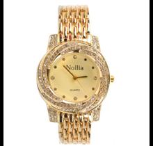 Nollia Women's Fashion Watch with Gems