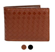 Laurant Bennet Bi-Fold Leather Wallet - MLW04161