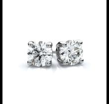 SEVEN50 Sterling Silver 4 Prongs Stud Earrings