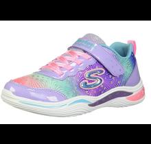 Skechers Little Girls' Power Petals-Painted Daisy Sneaker 20335N