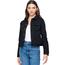 Blue Age Blue Age Women's Comfort Denim Jacket with Hoodie JK-4040