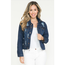 H & Y Fashion Women's Ripped Denim Jacket HY-117