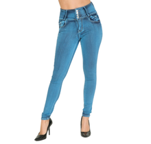 T & Y Fashion Women's Push Up Columbian Jean UM-2536