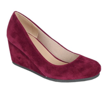 Forever Women's Wedge Closed Toe Heels Patricia-02