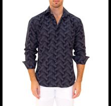 BC Men's Button-Up Long Sleeve Dress Shirt 202506