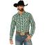 Wrangler Wrangler Men's Retro Plaid Long Sleeve Western Shirt MVG290G