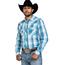 Wrangler Wrangler Men's Retro Plaid Long Sleeve Western Shirt MVG288B