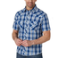 Wrangler Wrangler Men's Retro Plaid Short Sleeve Western Shirt MVG289B