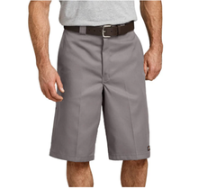 """Dickies 13"""" Loose Fit Multi-Pocket Work Shorts I Silver"""