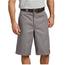 "Dickies Dickies 13"" Loose Fit Multi-Pocket Work Shorts I Silver"