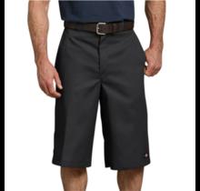 "Dickies Men's 15"" Loose Fit Multi-Use Pocket Work Shorts | Black"
