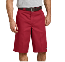 """Dickies 13"""" Loose Fit Multi-Pocket Work Shorts I English Red"""