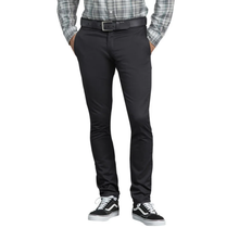Dickies Twill Work Pant Skinny Fit Straight Leg WP801BK