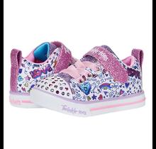 Skechers Girl's S Lights Sparkle Lite Doodle & Shine 314757N (Infant)