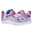 SKECHERS Skechers Girl's S Lights Sparkle Lite Doodle & Shine 314757N (Infant)