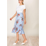 On The Land On The Land Women's Long Skirt with floral design H18A974