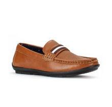 JXSN Boy's  Driver Loafer with Embossed Detail J1713