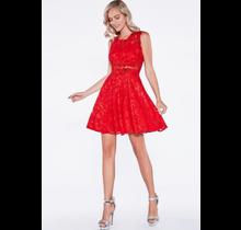 Cinderella A-line Cocktail Dress CF175