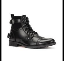 JXSN Men's Belted Combat Boot B2051
