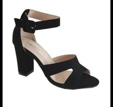 Bella Marie Women's Peep Toe High Heel w/ Ankle Strap Kylie-2