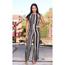 Timeless Timeless Women's Striped Jumpsuit TL315