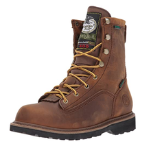 """Georgia Boots Youth 6"""" Mid Calf Waterproof Boot G2048"""