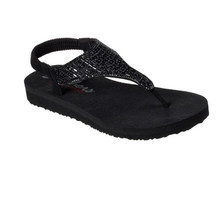 Skechers Women's Yoga Foam Sandal Meditation Rock Crown 31560 BBK