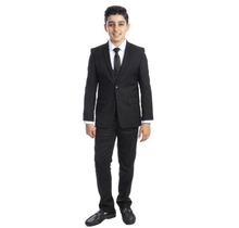 Perry Ellis Boys' 5 Piece Suit PB363-01 (Young Adult)