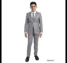 Perry Ellis Boy 5pc Suit Slim Fit PB363-05 (Little Boys)