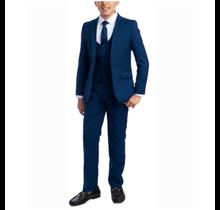 Perry Ellis Boy 5pc Suit Slim Fit PB363-10   (Big Boys)