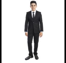 PERRY ELLIS BOY 5pc Suit Slim Fit PB363-01 (Little Boys)