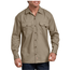 Dickies Dickies Men's FLEX Relaxed Fit Long Sleeve Twill Work Shirt WL675DS