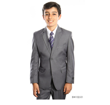 Tazio Boy's 2 pc Wool Suit BW102 (Young Adult)