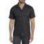 Dickies Dickies Men's Slim Fit S/S FLEX Twill Work Shirt WS673BK