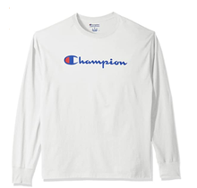 Champion Men's Classic Jersey Long Sleeve Graphic T-Shirt GT78H 045
